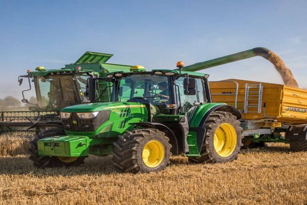 Tractor Agricola John Deere 6140M campo